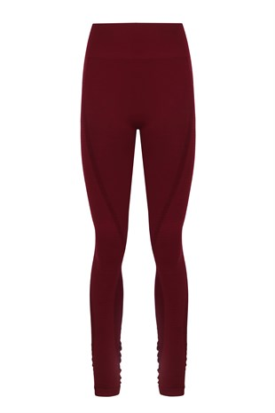 RA | LEGGINGS BORDEAUX  011